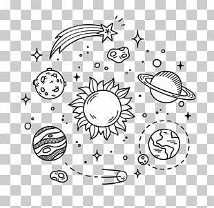 Drawing Doodle Planet Illustration PNG