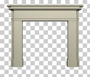 Table Fireplace Mantel Stove Marble PNG