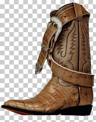 Cowboy Boot Shoe Fashion PNG