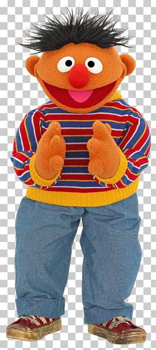 Ernie Bert Mr. Snuffleupagus Big Bird Elmo PNG