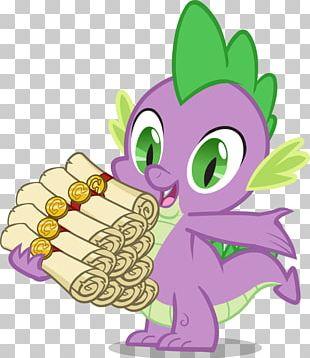 Spike Rarity Rainbow Dash Pony Fan Art PNG
