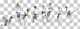 Taekwondo Karate Black Belt Social Group Team PNG