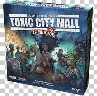 Zombicide Board Game Shopping Centre CMON Limited PNG