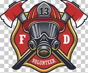 Firefighter Sticker Decal Fire Department PNG