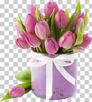 Flower Bouquet Tulip Cut Flowers Floristry PNG