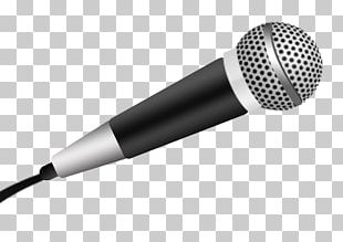 Microphone Audio Drawing Stencil PNG