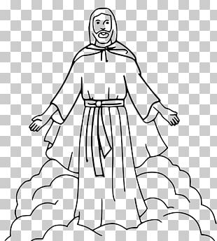 Coloring Book Bible Child Depiction Of Jesus PNG