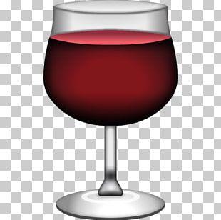 Emoji Red Wine Wine Cake Wine Glass PNG