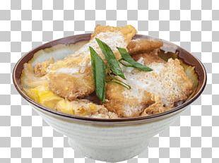 Katsudon Donburi Japanese Cuisine Ramen Karaage PNG