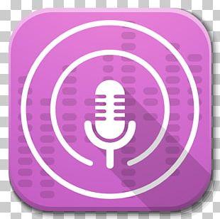 Pink Audio Purple Symbol PNG