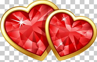 Valentine's Day February 14 Love Friendship Heart PNG