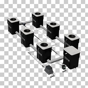 Hydroponics Systems: How To Build A Hydroponic System For Your Garden Deep Water Culture Current Culture H2O Grow Light PNG