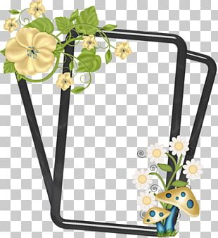 Cut Flowers Floral Design Frames PNG
