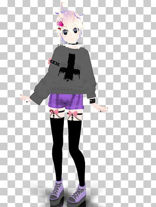 Goth Subculture Pastel Megurine Luka PNG