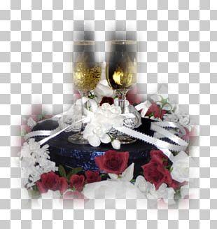 Champagne Birthday Cake Animaatio PNG