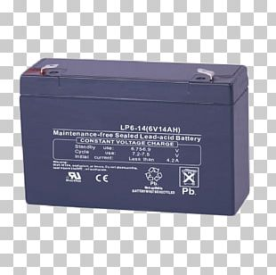 Electric Battery VRLA Battery Ampere Hour Volt Rechargeable Battery PNG