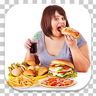 Junk Food Eating Fast Food Diet PNG