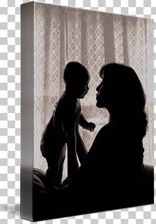 Mother Infant Father Silhouette PNG