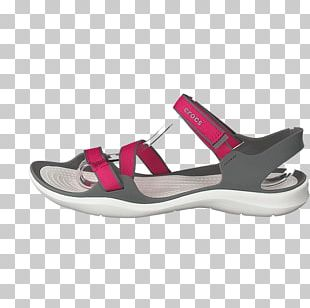 Sandal Crocs Shoe Boot Pink PNG