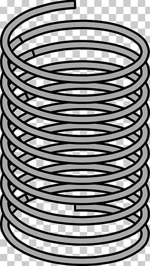 Spring Steel Metal PNG