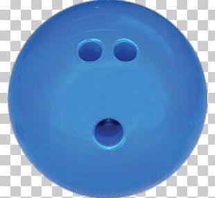 Blue Bowling Ball PNG