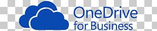 OneDrive Microsoft Office 365 Business SharePoint Cloud Computing PNG