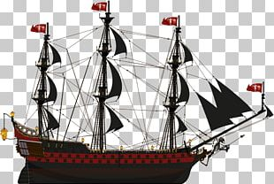 Brigantine Galleon Caravel Fluyt Carrack PNG