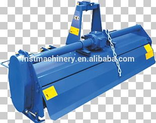 Steel Plastic Cylinder Electric Blue PNG