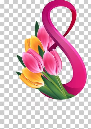 March 8 International Women's Day Greeting & Note Cards Stock Photography PNG