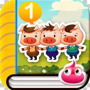 The Three Little Pigs Domestic Pig Fairy Tale PNG