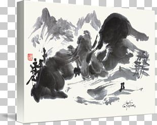 Landscape Painting Japan Kitten Drawing PNG