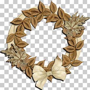 Wreath Leaf Flower Tree PNG