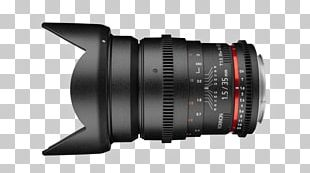 Fisheye Lens Canon EF Lens Mount Digital SLR Rokinon 35mm F/1.4 Camera Lens PNG