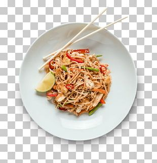 Thai Cuisine Pad Thai Dish Chinese Noodles Asian Cuisine PNG