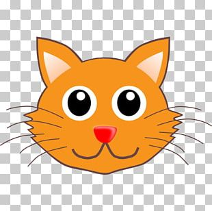 Cat Kitten Cartoon Drawing PNG