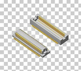 Electrical Connector Printed Circuit Board Microcontroller Board-to-board Connector Electronics PNG