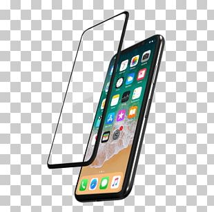 Smartphone IPhone X Screen Protectors Toughened Glass PNG