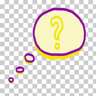 Yellow Purple Speech Balloon PNG