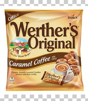 Cream Caramel Apple Werther's Original Hard Candy PNG