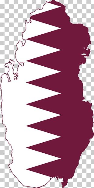 Flag Of Qatar Map National Flag PNG