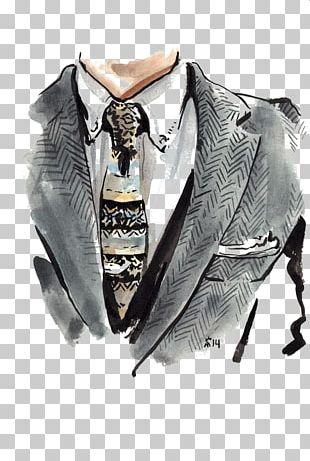 Fashion Illustration Drawing Suit Illustration PNG