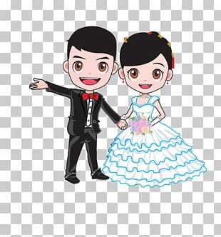 Cartoon Wedding Marriage Bridegroom PNG