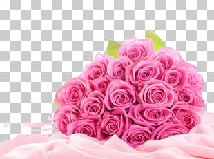 Rose Flower Bouquet Pink PNG