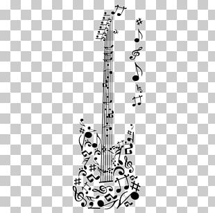 Electric Guitar Musical Note Sheet Music PNG