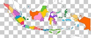 Flag Of Indonesia Map PNG