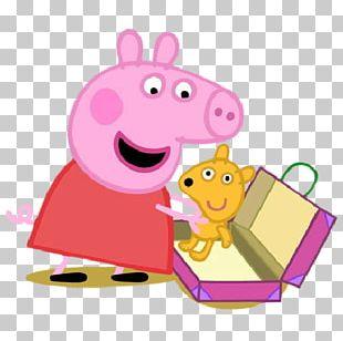 Daddy Pig Sticker Telegram PNG