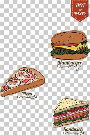 Hamburger Fast Food Hot Dog Menu Restaurant PNG