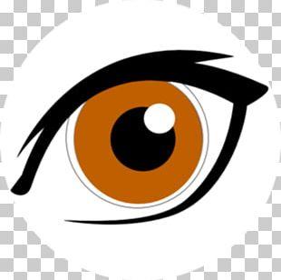 Googly Eyes Brown PNG