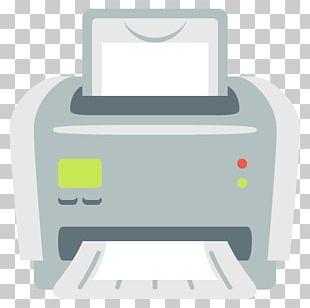 Printer Emoji Computer Keyboard Computer Mouse Laptop PNG