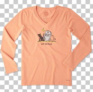 Long-sleeved T-shirt Long-sleeved T-shirt Life Is Good Company PNG